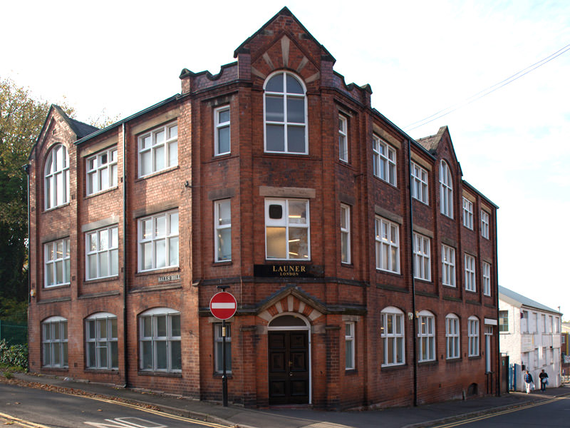 Launer factory in Walsall