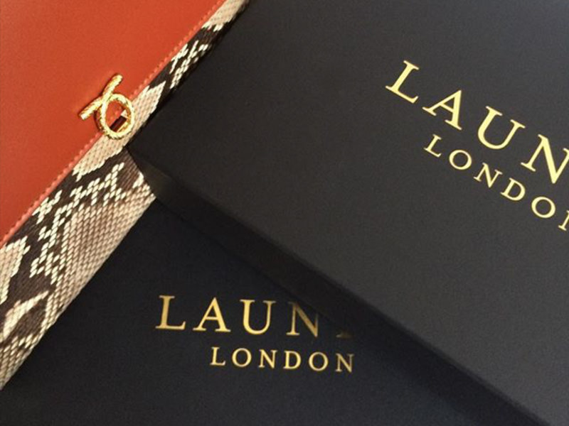 Launer London delivery packaging
