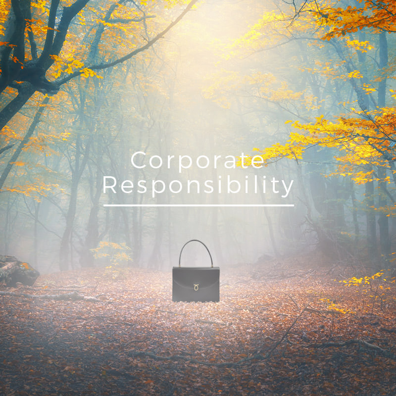 Launer's Corporate and Social Responisbility