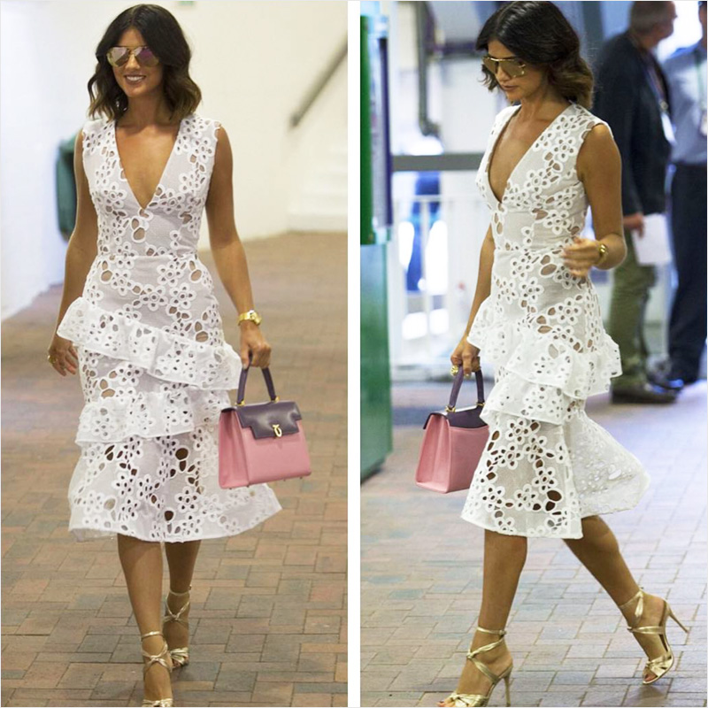 Lucy Mecklenburgh with Launer Traviata